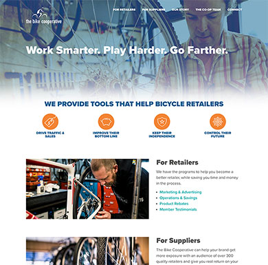 The Bike Cooperative's home page