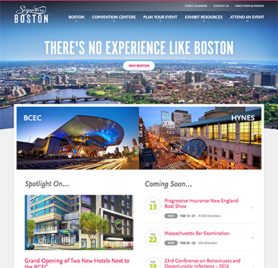 Signature Boston's home page